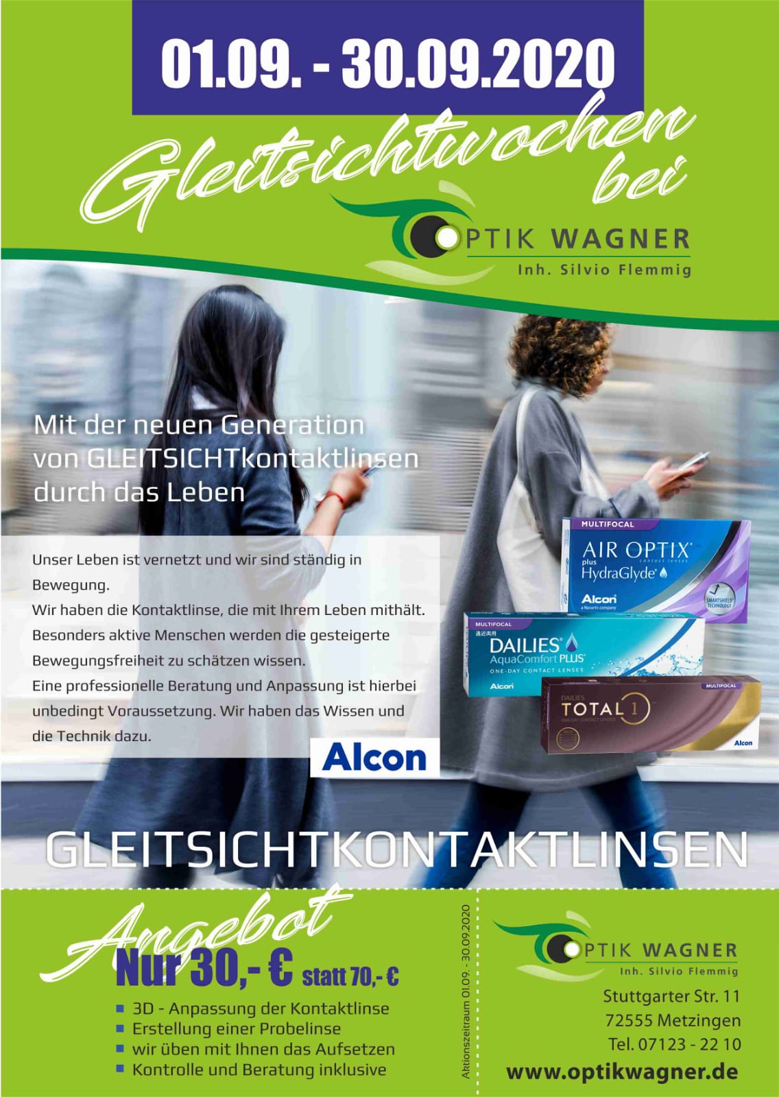 Gleitsichtwochen bei Optik Wagner in Metzingen
